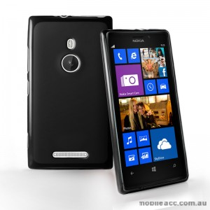 TPU Gel Case for Nokia Lumia 925 - Black