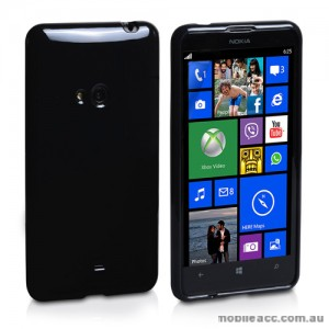 Soft TPU Gel Case for Nokia Lumia 625 - Black