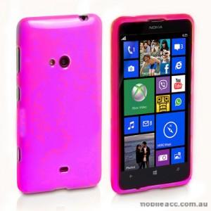 Soft TPU Gel Case for Nokia Lumia 625 - Pink