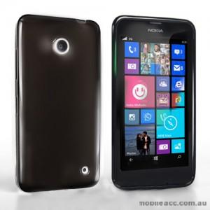 TPU Gel Case Cover for Nokia Lumia 630 635 - Black