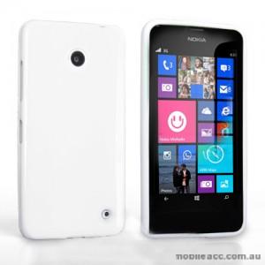 TPU Gel Case Cover for Nokia Lumia 630 635 - White