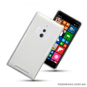 TPU Gel Case Cover for Nokia Lumia 830 - White