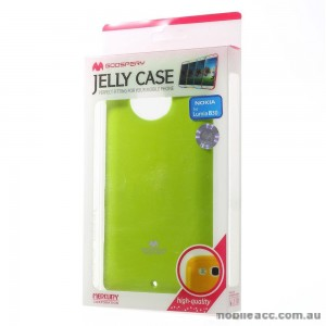 Korean Mercury TPU Gel Case Cover for Nokia Lumia 830 - Green