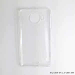 TPU Gel Case for Microsoft Lumia 950 XL Clear × 2