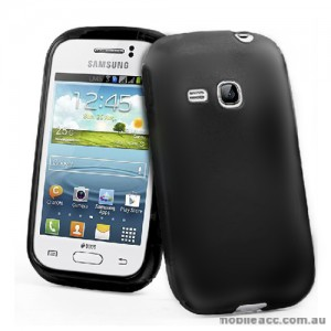 TPU Gel Case for Samsung Galaxy Young S6310 - Black