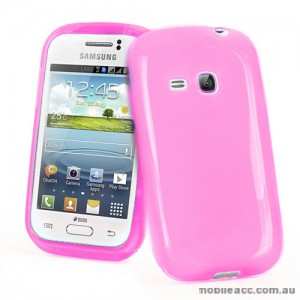TPU Gel Case for Samsung Galaxy Young S6310 - Light Pink