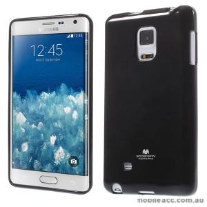 Korean Mercury TPU Gel Case Cover for Samsung Galaxy Note Edge - Black