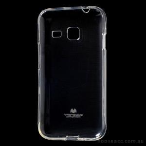 Korean Mercury Pearl iSkin TPU For Samsung Galaxy J1 Mini - Clear