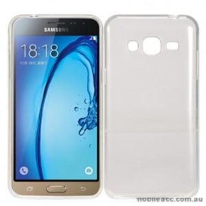 Soft TPU Back Case for Samsung Galaxy J3 2016 - Clear