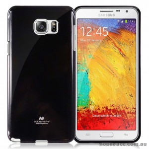 Korean Mercury TPU Case Cover for Samsung Galaxy A8 2015  Black
