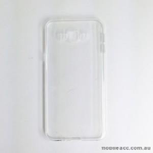 TPU Soft Gel Back Case for Samsung Galaxy A8 Clear