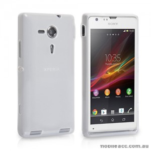 TPU Gel Case Cover for Sony Xperia SP M35h - Clear