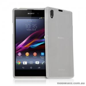 TPU Gel Case for Sony Xperia Z1 L39h - Clear