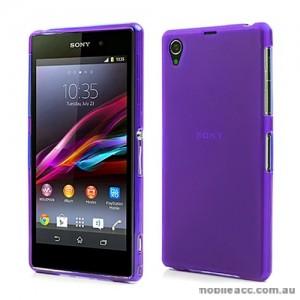 TPU Gel Case for Sony Xperia Z1 L39h - Purple