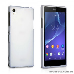 TPU Gel Case Cover for Sony Xperia Z2 - White