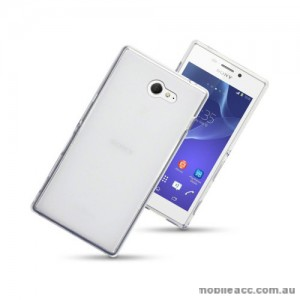 TPU Gel Case Cover for Sony Xperia M2 - Clear