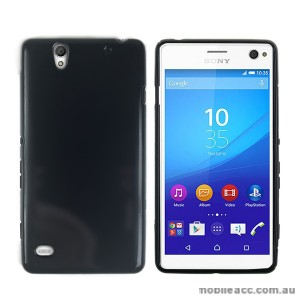 TPU Gel Case Cover for Sony Xperia C4 Black
