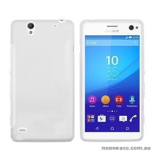 TPU Gel Case Cover for Sony Xperia C4 White