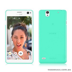 TPU Gel Case Cover for Sony Xperia C4 Green
