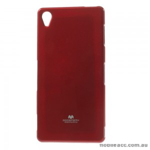 Korean Mercury TPU Case Cover for Sony Xperia Z5 Red