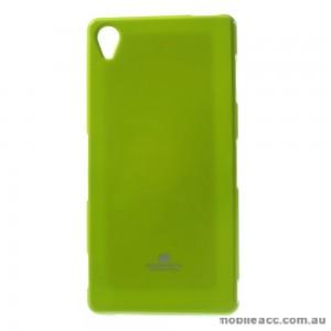 Korean Mercury TPU Case Cover for Sony Xperia Z5 Green