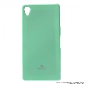 Korean Mercury Color Pearl Jelly Case for Sony Xperia Z5 Premium Mint Green
