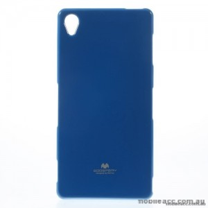 Korean Mercury Color Pearl Jelly Case for Sony Xperia Z5 Premium Royal Blue