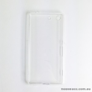 TPU Soft Gel Back Case for Sony Xperia M5 Clear
