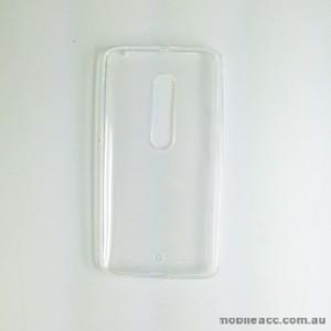 TPU Gel Case Cover for Motorola Moto X Play Clear