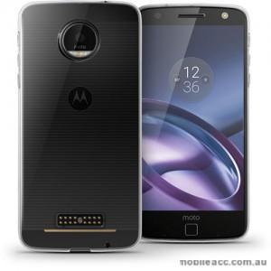 Soft TPU Gel Jelly Case For Motorola Moto Z Clear