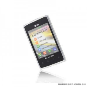 TPU Gel  Case Cover for LG Optimus L3 E400F