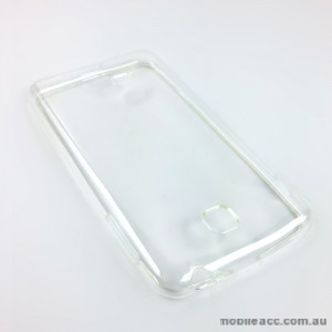 TPU Gel Case for LG Optimus F5 P875 - Clear