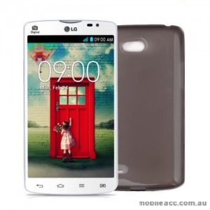 TPU Gel Case Cover for LG L80 Dual - Dark Grey