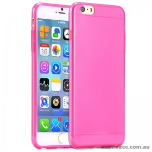 TPU Gel Case Cover for iPhone 6/6S - Transparent Pink