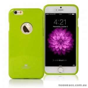 Mercury Pearl TPU Gel Case Cover for iPhone 6/6S - Bean Green