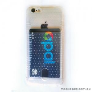 Anti-Shock Bumper TPU Soft Card Case for iPhone 6/6S Clear