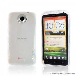 Soft TPU Gel Case for HTC One X - Clear