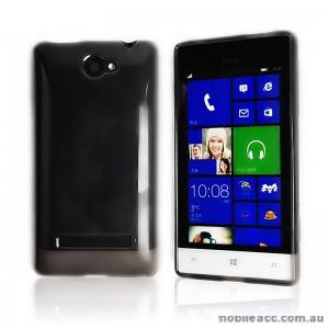 TPU Gel Case for HTC Windows Phone 8S - Dark Grey