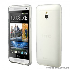 TPU Gel Case Cover for HTC One Mini M4 - Clear