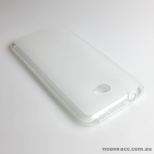 TPU Gel Case Cover for HTC Desire 601 - Clear