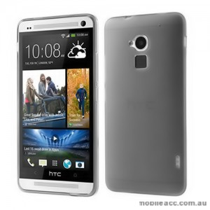 TPU Gel Case Cover for HTC One Max T6 - Black