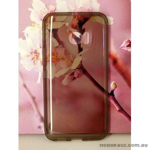 TPU Soft Gel Case for HTC M10 Dark Grey