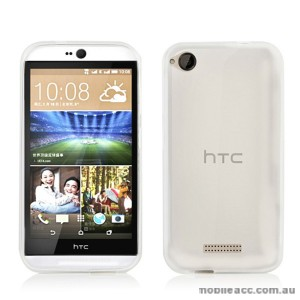 TPU Gel Case Cover for HTC Desire 320 - Clear