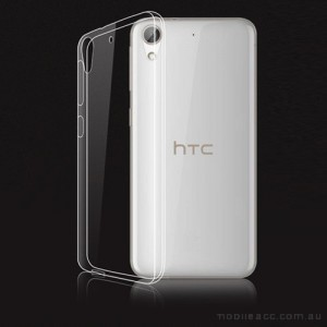 Soft TPU Back Case for HTC Desire 650 - Clear