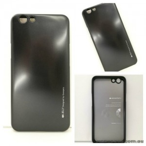 Mercury Goospery iJelly Gel Case For Oppo F1S - Black