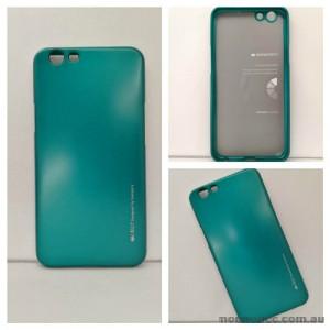 Mercury Goospery iJelly Gel Case For Oppo F1S - Green