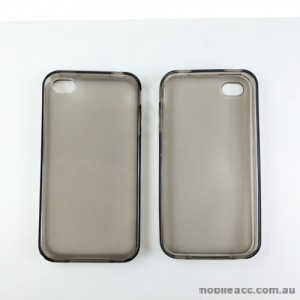 TPU Gel Case Cover for iPhone 4 / 4S - 4 Color