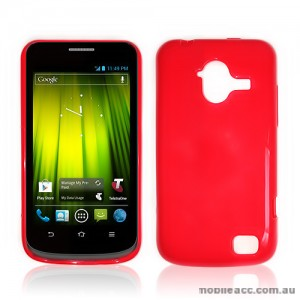 TPU Gel Case for Telstra Frontier 4G - Red