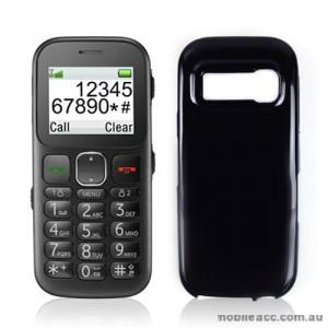 TPU Gel Case Cover for Telstra Easycall 3 T303 - Black