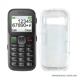 TPU Gel Case Cover for Telstra Easycall 3 T303 - Clear × 2